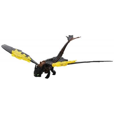 Дракон Беззубик  огненные крылья