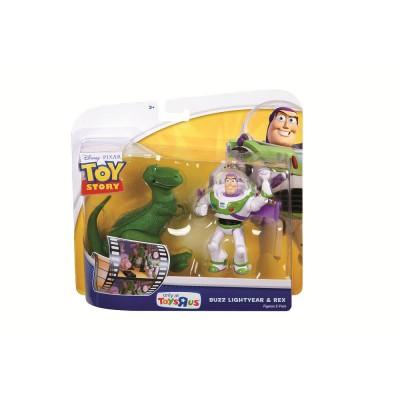 Баз Лайтер + динозавр РЕКС
