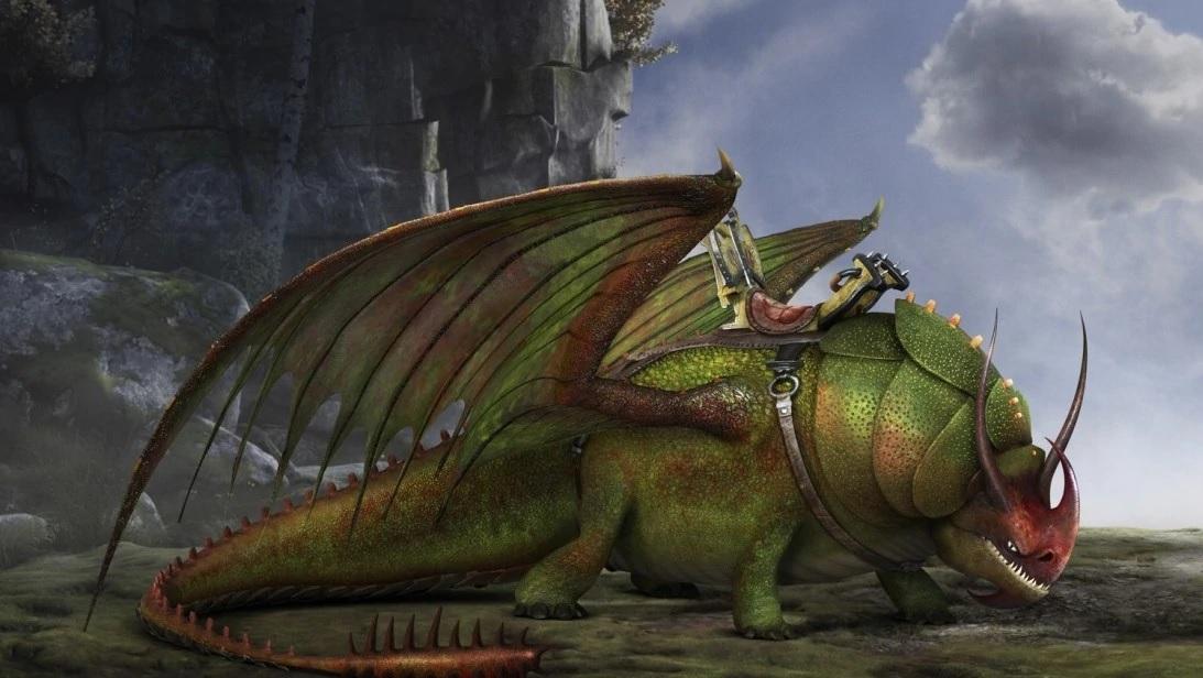 Скулкрашер Крушиголов дракон из как приручить дракона