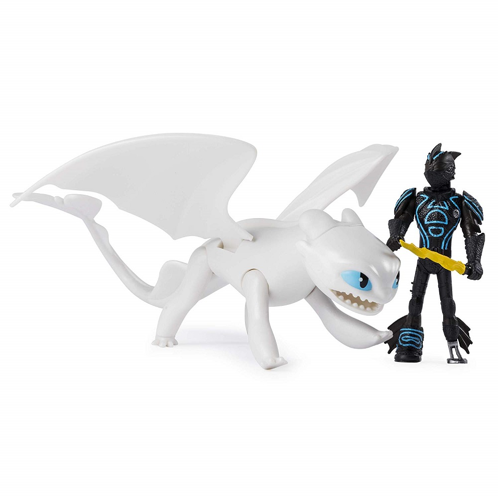 белая фурия дракон фигурка купить