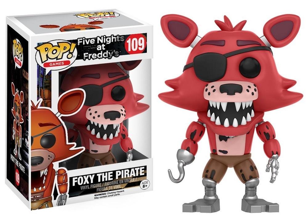 fnaf vse geroi original foxy
