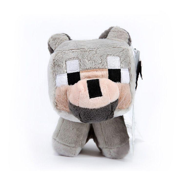 игрушки-оригинальные-из-майнкрафт-волк-собака